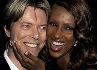 David Bowie and Iman celebrated their 23rd anniversary just recently.