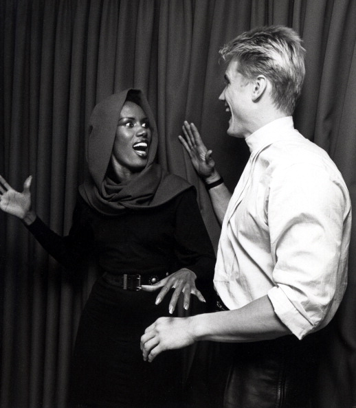 Swirl of Jamaica Month: Grace Jones and Dolph Lundgren ...
